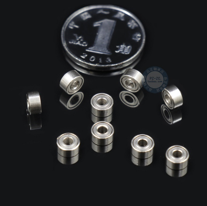 10PCS 673-2Z 673ZZ MR63 MR63ZZ MR63RS MR63-2Z MR63Z MR63-2RS ZZ RS RZ 2RZ Deep Groove Ball Bearings 3*6 *2.5mm  3*6 *2mm