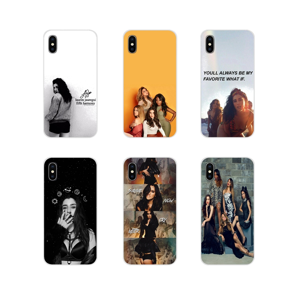 5h Fifth Harmony Lauren Jauregui For Samsung Galaxy J1 J2 J3 J4 J5 J6 J7 J8 Plus 2018 Prime 2015 2016 2017 Cell Phone Skin Cover image