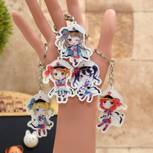 Love Live acrylic Keychain Airline Hostess Action Figure Pendant Car Key Chain Key Accessories 9 Styles LL012  LTX1