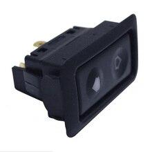 Универсальный 1 шт. 20A Электрический переключатель стеклоподъемника для всех автомобилей с зеленым светодиодный светильник автомобильный кнопочный переключатель 12 В/24 В автомобильные аксессуары