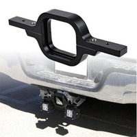 Aluminum Alloy Tow Hitch Light Mounting Bracket For Dual LED Reverse Backup Rear Work Light SUV