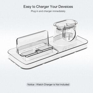 Image 4 - RAXFLY 3 in 1 manyetik telefon şarj cihazı iPhone Dock için 3 in 1 kablosuz şarj cihazı Airpods şarj standı tutucu apple Watch için