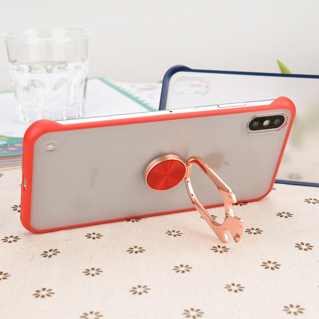 For iphone X Case with Beer Bottle Opener for iPhone 6 7 8 XR XS Max Mobile Protective Cover Shockproof Protection case+holder