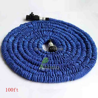 Aluminum Hose Head Hose Garden,Spray Gun Water Tube,Expandable Hose 100ft Water Garden Pipe for Garden And Washing Cars Myeshop