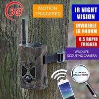 3G Trail Kamera Jagd Wache Scout Bauernhof Nocken Zeitraffer Foto falle Outdoor SMS MMS GSM jagdkamera 3G 24 LEDs