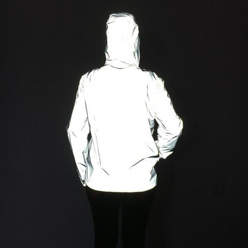 Free shipping winter jacket men 3m reflective jackets men ...