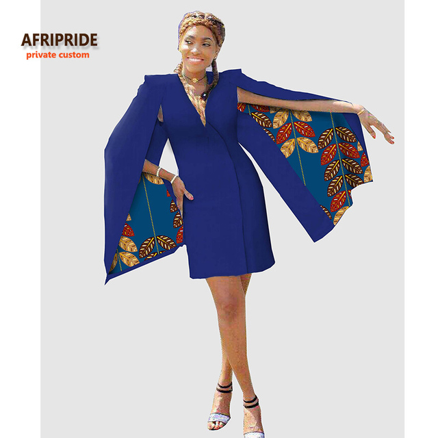 4bfe48f9fd19b 2017 Summer new african inspired fashion the hottest women clothes cape  blazer COAT knee-length colorful pure cotton A722407