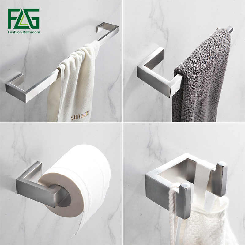 Bathroom Hardware Sets Nickel.Detail Feedback Questions About Flg 304 Stainless Steel Brushed