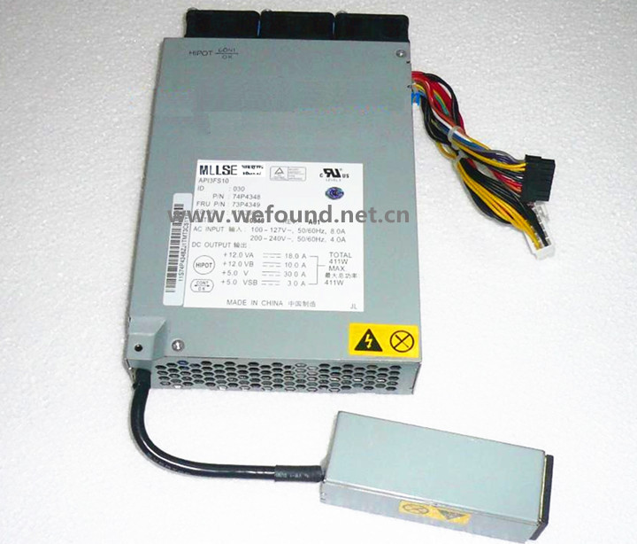 все цены на 100% working power supply For X325 X326M 74P4349 74P4348 API3FS10 411W Fully tested. онлайн