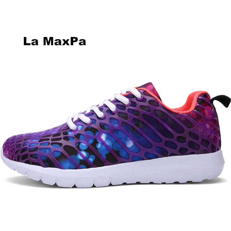 2018 sneakers men Breathe light running shoes for women Flywire sport shoes woman Jogging Trainers zapatillas mujer size 35-46