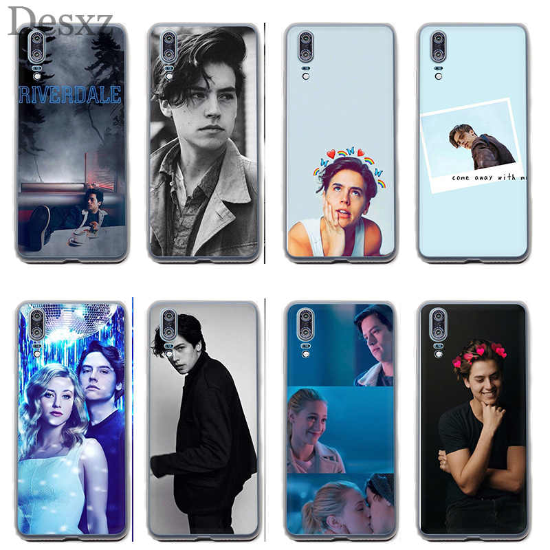 Phone Case American TV Riverdale Cole Sprouse For Huawei P30 P8 P9 P10 P20 Pro P Smart Lite Mini Plus Cover