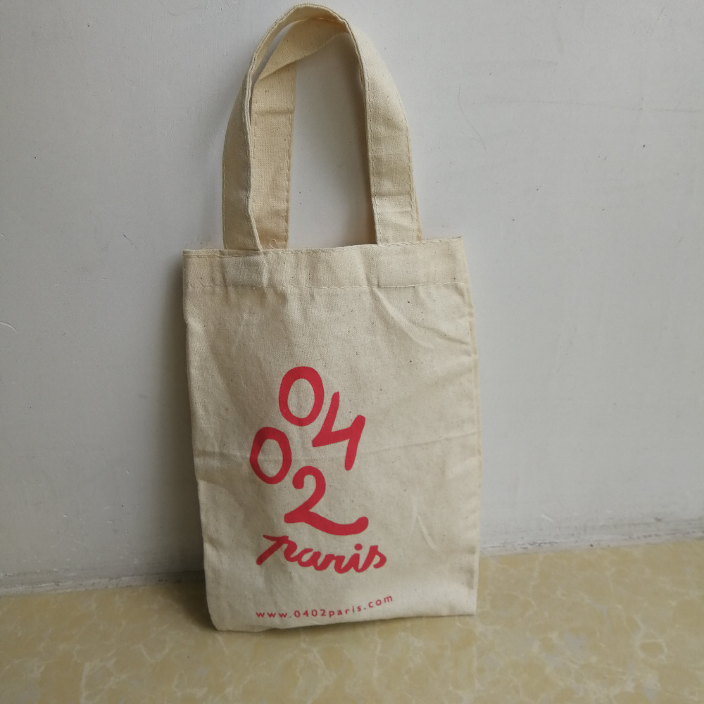 1000pcs/lot Eco-friendly recycled high quality promotion wholesale manufacturer custom tote 100% cotton canvas shopping bags