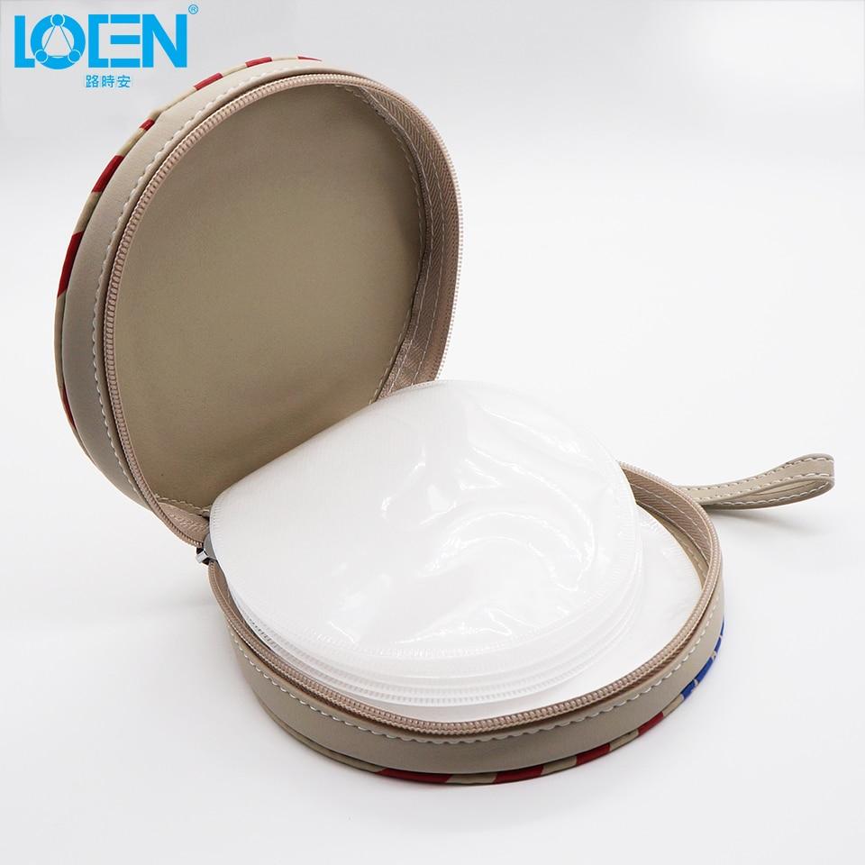 Alta calidad 1 UNID PU cuero impermeable 20 Disco con cremallera CD - Accesorios de interior de coche - foto 6