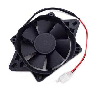 Image 3 - Xljoy電動atvラジエーター冷却ファン用中国200ccの250ccクラスatvゴーカートバギー4ウィーラーモトクロスオートバイ