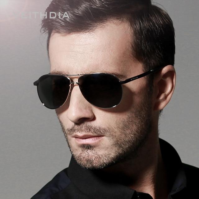 84edd71810 VEITHDIA Aviator Mens Sunglasses Polarized Lens Driving Sun Glasses Male  Driving Fashion Eyewears Accessories