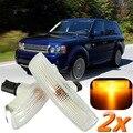 Novo Repetidor Lateral Indicator Light & Lâmpada Para Land Rover/Range Rover/Esporte/Freelander