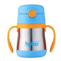 Bobei Elephant 200ml Children Insulation Cup Kids Heat Preservation Drinking Water Milk Bottles For Newborn Baby