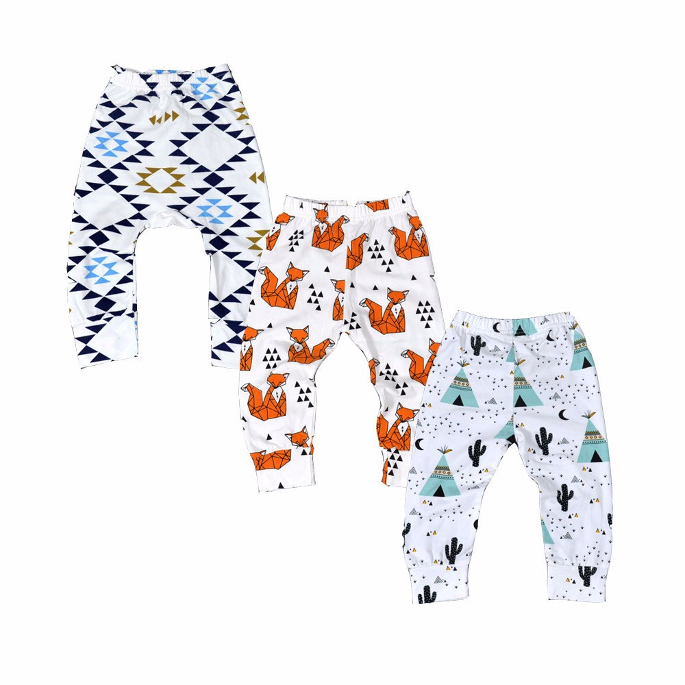 3 PCS/LOT Fashion Baby Pants