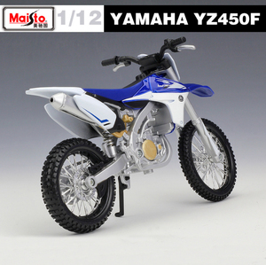 Image 3 - New 1:12 Scale YAMAHA YZ450F Metal Diecast Model Motorcycle Motorbike Racing Cars Toys Vehicle Moto GP Collection For Boys Gifts