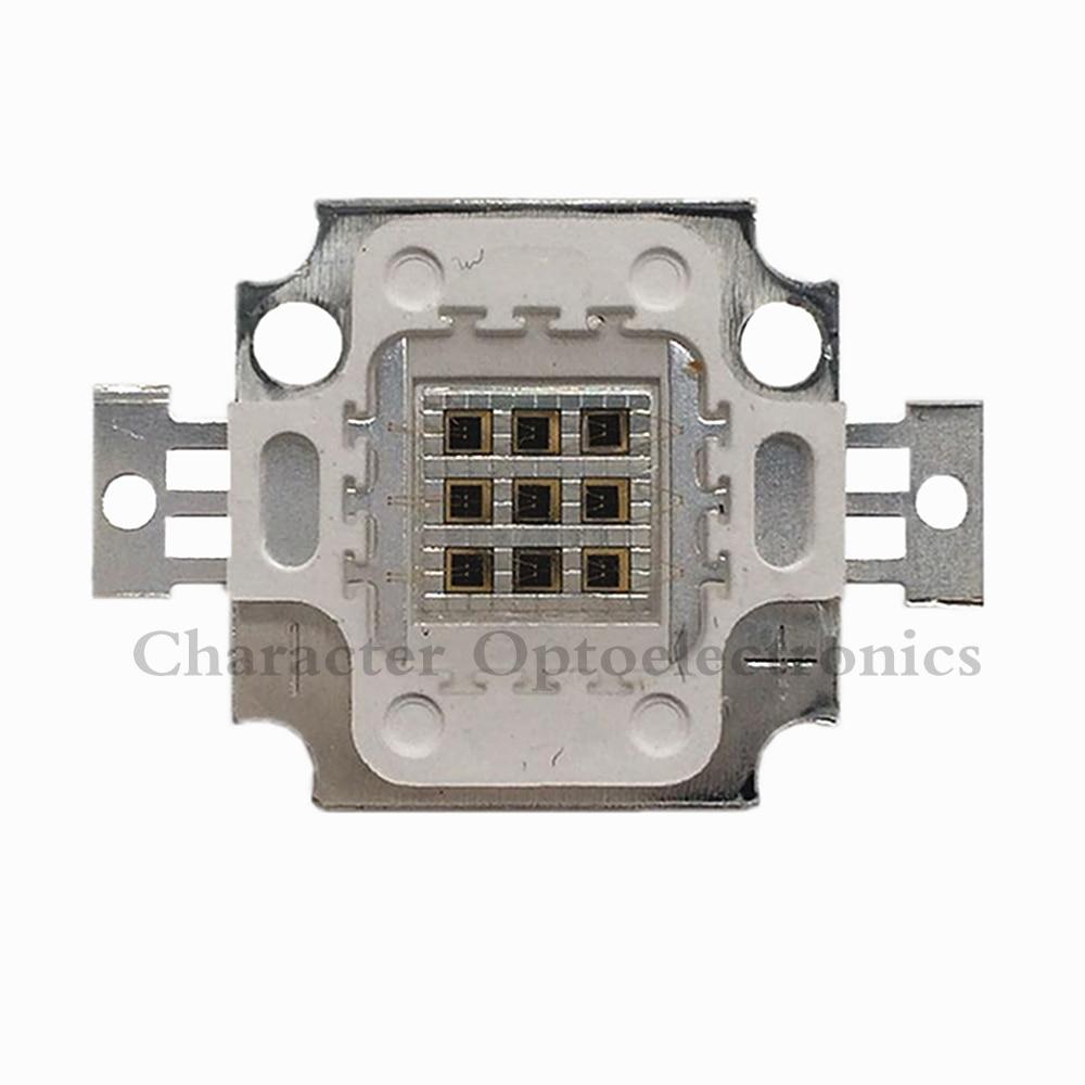 1 PCS 10 18whigh puissance LED puce IR 730Nm 850Nm 940Nm Intégration Ampoule Infrarouge Rayonnement Diodes Capteur de Détection Laser lampe de Poche