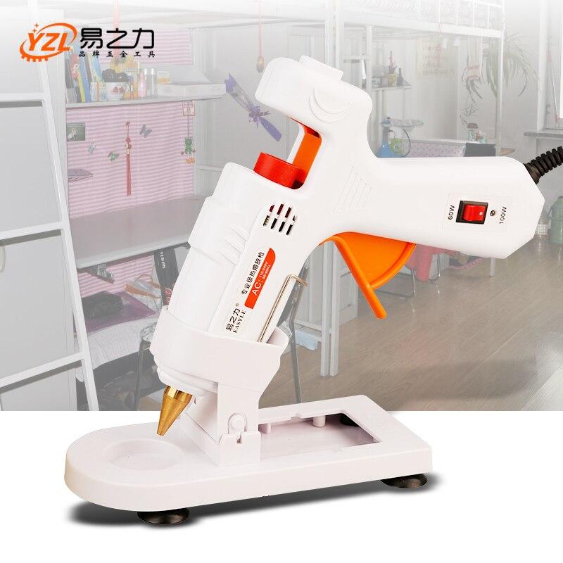 30W/40W/80W/100W Professional High Temp Hot Melt Glue Gun 30W Graft Repair Heat Gun Pneumatic DIY Tools Hot Glue Gun free Glue s