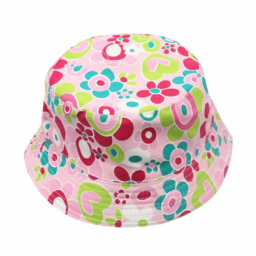 a62b9e009071e1 Detail Feedback Questions about Toddler Baby Boys Girls Floral Pattern Bucket  Hats Kids Sun Helmet Cap Children flowers sun basin hat panama fisherman hat  ...