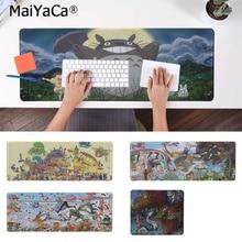 MaiYaCa Hot Sales Atsushi Shinozaki Cartoon Tonari no Totoro Rubber Mouse Durable Desktop Mousepad Free Shipping Large Pad