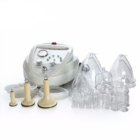 New2017 Electric vacuum therapi machine Lymph Drainage/Face Slimming/ breast enlarger beauty instrument enhancing cupping device