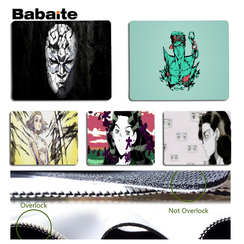 Babaite 2018 JOJOS Bizarre Adventure Customized laptop Gaming mouse pad Size for 180x220x2mm and 250x290x2mm Design Mouse Pad