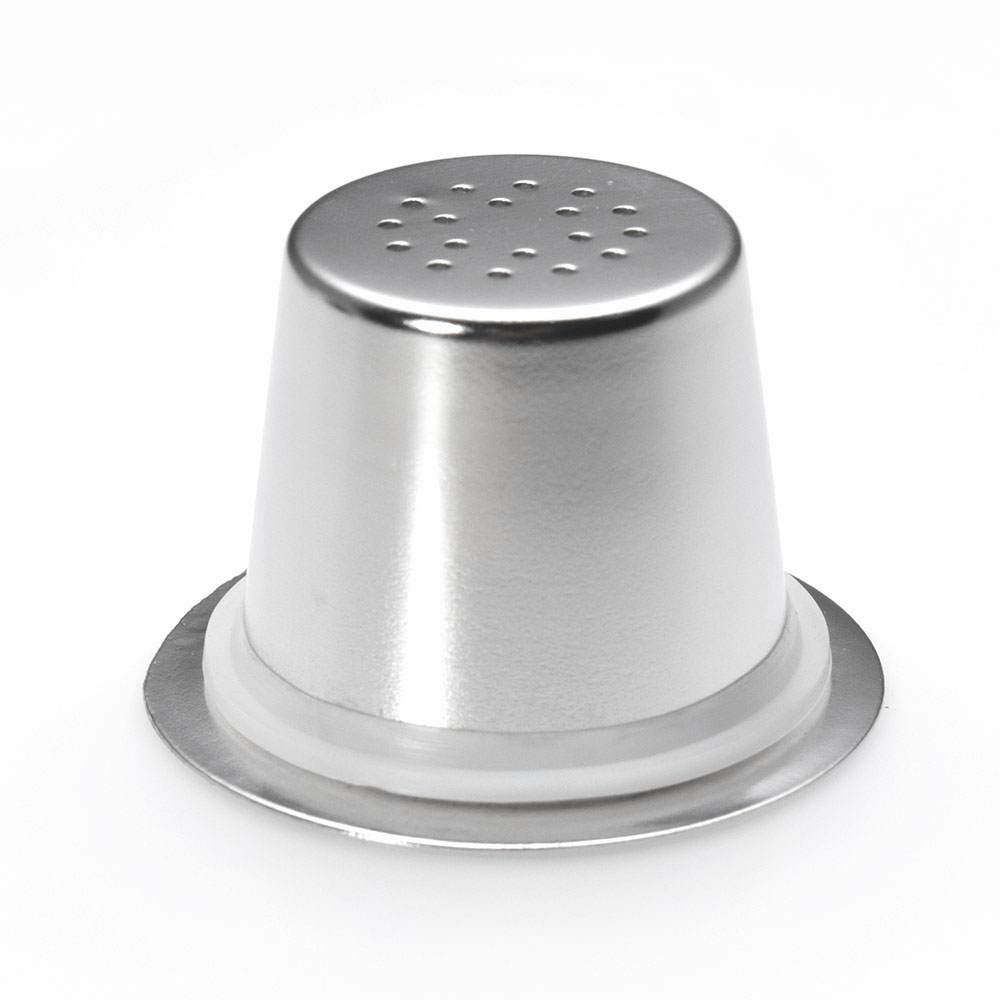 3 Pods 60 Seals Stainless Steel Refillable Nespresso Coffee Capsule Reusable Nespresso Machine Espresso Coffee Maker Cup Filter