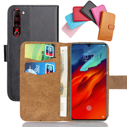 На Алиэкспресс купить чехол для смартфона for lenovo s5 pro gt case 6 colors flip soft leather crazy horse phone cover stand function cases credit card wallet