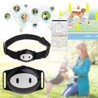 Pet Locator Intelligence GPS Location Waterproof Tracker Collar Geo Fence Longtime Standby Dog Cat Puppy Finder Alarm Voice App