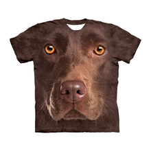 Dog face t shirt 3d t-shirt Men women Tee Printed Top Short Sleeve Camiseta O-neck Streetwear Drop shipping
