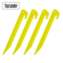 4 Pcs Tent Pegs Plastic Tent Stakes For Sand Beach Tent Lightweight Safety Nylon Materials 19  sc 1 st  AliExpress.com & Buy plastic tent pegs and get free shipping on AliExpress.com