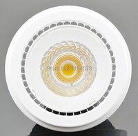 Livraison gratuite Dimmable COB 15 W AR111 Chaud Blanc Froid LED spotlight remplacement 50 w AR111 lampe accent éclairage led la lumière de la maison