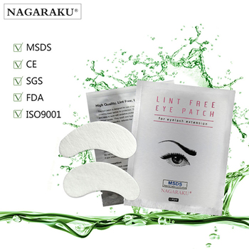 Nagaraku, 50 пар комплект, под глазами колодки, безворсовой патчи гель для глаз, глаз патчи для наращивания ресниц