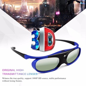 Image 3 - FORNORM GS1000 Battery Universal DLP 3D Glasses Active Shutter 96 144Hz For Optoma BenQ Acer Viewsonic for Dell JmGO XGIMI 3DTV