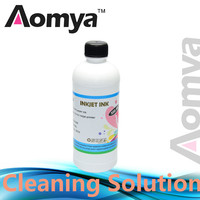 Cleaning Solution/ Liquid For Cleaning all Dye ink, Pigment ink, Subliamtion ink, Art paper ink For all inkjet Printers,500ml