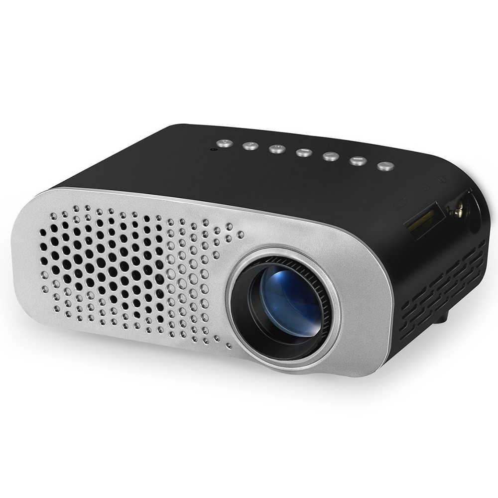 ViviBright мини светодиодный проектор высокого разрешения 1080 P видео Beamer портативный 480*320 домашний кинотеатр lcd tv Smart 3D проектор