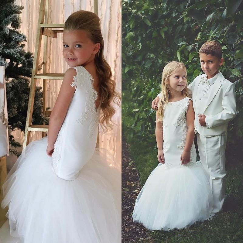country-wedding-white-mermaid-flower-girls-dresses-tulle-ball-gown-train-lace-applique-beads-little-girls-pageant-dress-holy-communion-dress (4)_