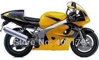 Лидер продаж, GSXR 600/750 GSXR600 96 97 98 99 00 тела обтекатель комплект для Suzuki GSX R600 желтый SRAD 1996 2000 мотоциклов Обтекатели
