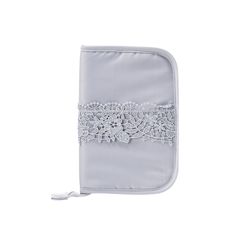 Solid Color Cute Travel Passport Cover Bank Credit Card Ladies Travel Portable Wallet Bo ...