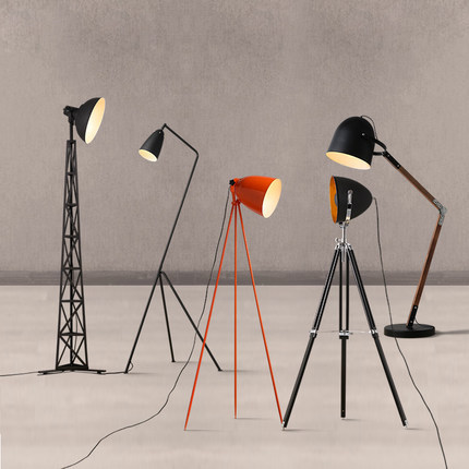 Nordic floor lamps creative design floor lamp bedroom living room lighting office bar personality lamps floor lights ZA floor lamps for living room bedroom bedside lamp on the floor designer floor lights floor lamps for office stand lighting indoor