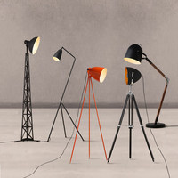 Nordic floor lamps creative design floor lamp bedroom living room lighting office bar personality lamps floor lights ZA