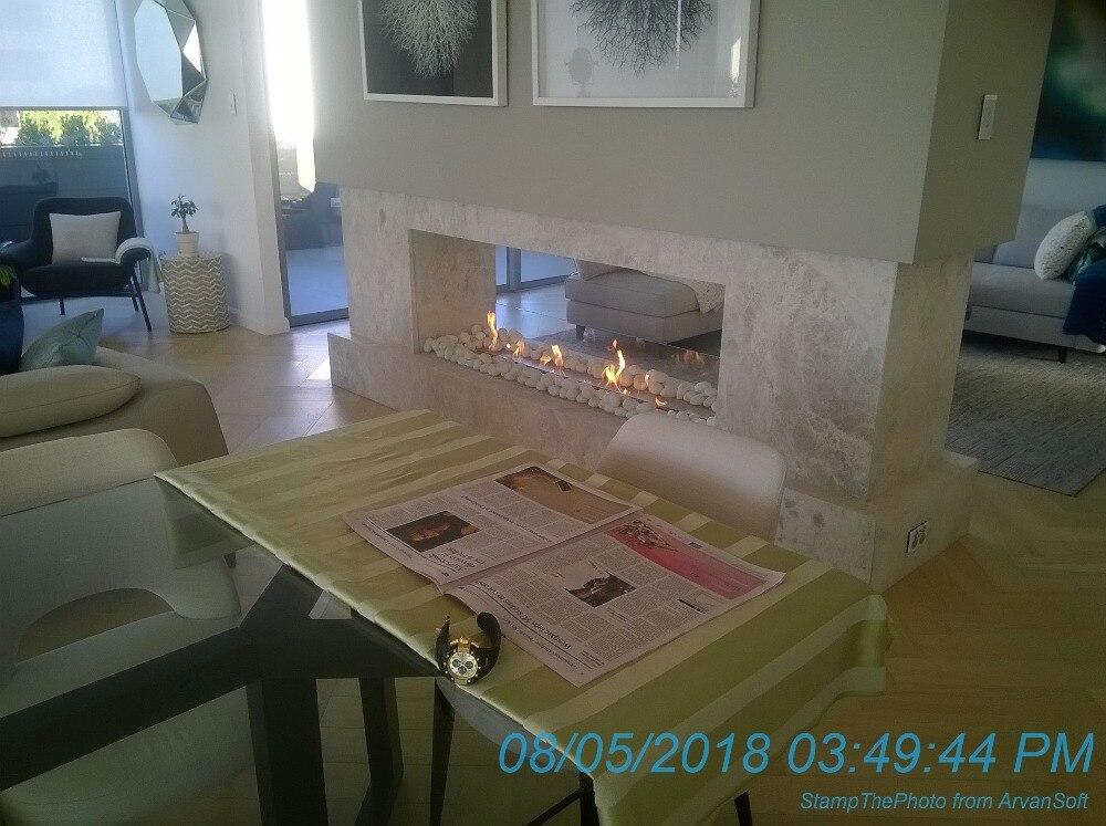 Decoration case of 48 inch smart burner 2