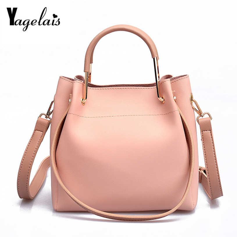 a00a15b78ec PU Leather Handbags Women Bag Casual Female Bags Big Fashionable ...