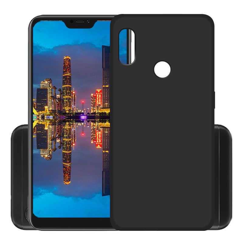Polos Lembut Matte TPU Case untuk Xiao Mi Mi A2 A1 Mi 8 Se Poophone F1 6X Poophone Penutup Telepon untuk Red MI 5 Plus Note 5 6 Pro 4X 6A 5A 4 4A