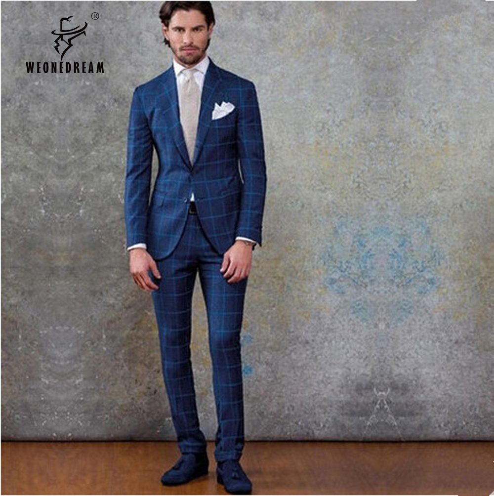 Blue Plaid Suit Men'S | My Dress Tip