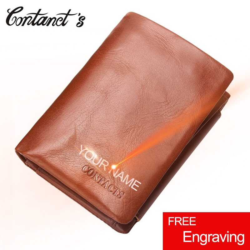 NEW Men Wallet Cowhide Genuine Leather Trifold Short Designer Band Purse Zipper&Hasp Coin Purses Men Clip Business Card Holder 2017 new men wallets contact s genuine crazy horse cowhide leather short purses for brand men casual card holder designer wallet page 8
