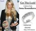 Знаменитости стиль sona Моделируется кольца с бриллиантами Для Женщин, обручальное кольцо, обещание кольца, вечность группа
